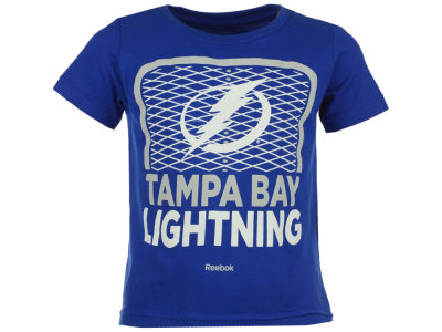 Tampa Bay Lightning adidas NHL Toddler Center Goal T-Shirt