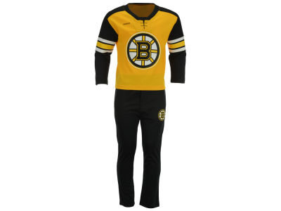 Boston Bruins adidas NHL Toddler MVP Pant Set