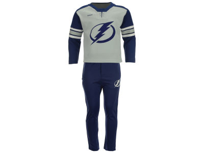 Tampa Bay Lightning adidas NHL Toddler MVP Pant Set