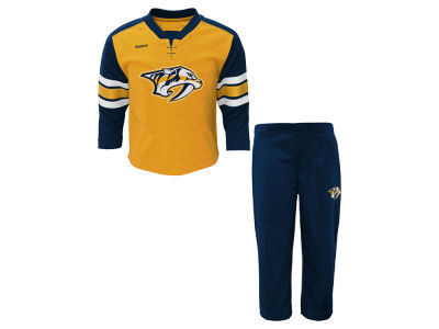 Nashville Predators adidas NHL Toddler MVP Pant Set