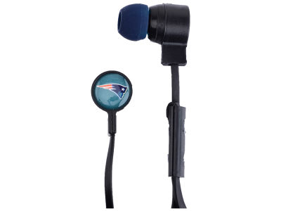 New England Patriots Big Logo Earbuds