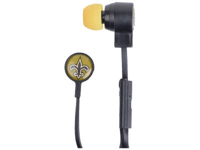 New Orleans Saints Big Logo Earbuds