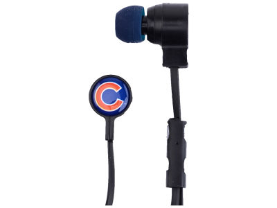 Chicago Cubs Big Logo Earbuds