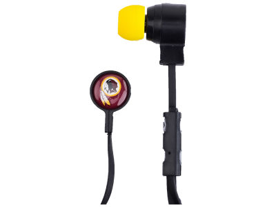Washington Redskins Big Logo Earbuds