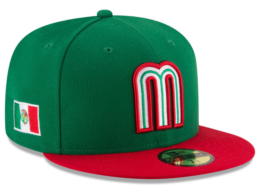 Mexico New Era 2017 World Baseball Classic 59FIFTY Cap 24d83bcb8eab
