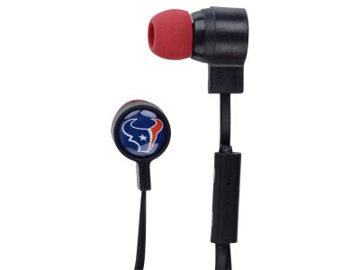 Houston Texans Mizco Big Logo Earbuds