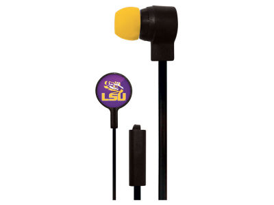 LSU Tigers Mizco Big Logo Earbuds