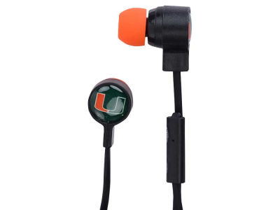 Miami Hurricanes Big Logo Earbuds