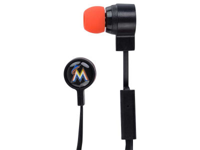 Miami Marlins Big Logo Earbuds