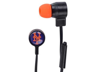 New York Mets Big Logo Earbuds