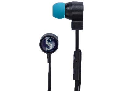 Seattle Mariners Mizco Big Logo Earbuds