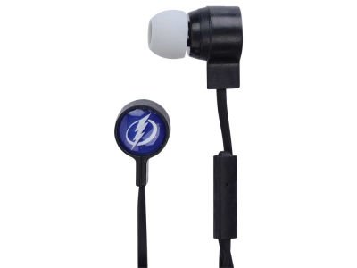 Tampa Bay Lightning Big Logo Earbuds
