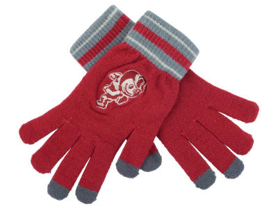 Ohio State Buckeyes Mizco Knit Texting Gloves