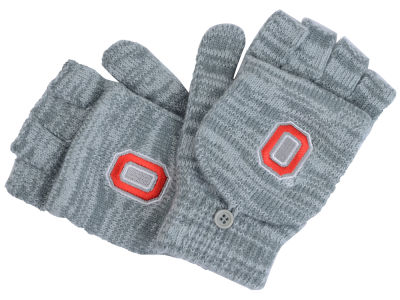Ohio State Buckeyes Women's Convertible Knit Mittens