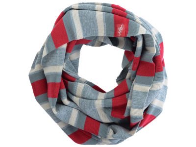Ohio State Buckeyes Infinity Striped Scarf