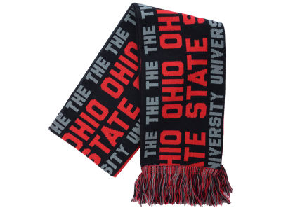 Ohio State Buckeyes The OSU Knit Scarf