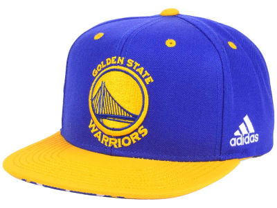 Golden State Warriors adidas NBA Courtside Snapback Cap