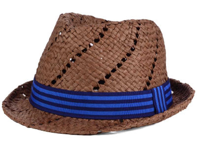 LIDS Private Label Straw Trilby with Stripe Band