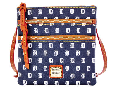 Detroit Tigers Dooney & Bourke Triple Zip Crossbody Bag