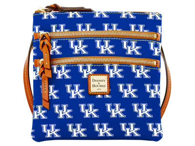Kentucky Wildcats Dooney & Bourke Triple Zip Crossbody Bag