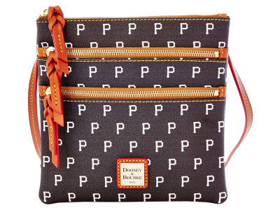 Pittsburgh Pirates Dooney & Bourke Triple Zip Crossbody Bag