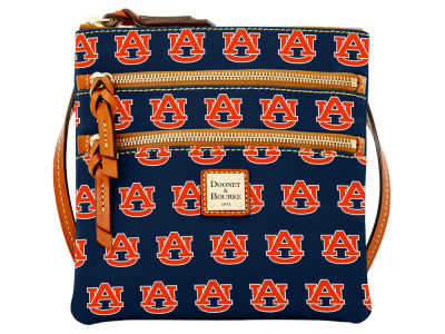 Auburn Tigers Dooney & Bourke Triple Zip Crossbody Bag