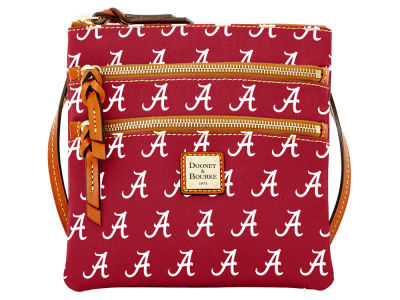 Alabama Crimson Tide Dooney & Bourke Triple Zip Crossbody Bag