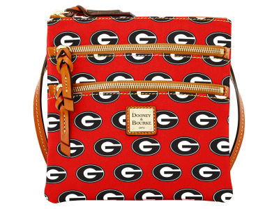 Georgia Bulldogs Dooney & Bourke Triple Zip Crossbody Bag