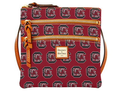 South Carolina Gamecocks Dooney & Bourke Triple Zip Crossbody Bag