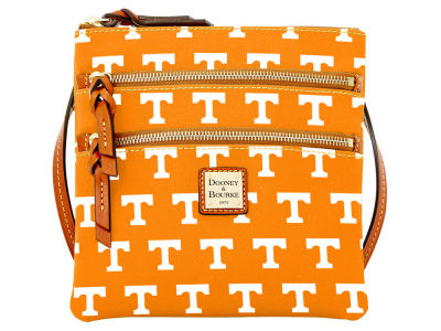 Tennessee Volunteers Dooney & Bourke Triple Zip Crossbody Bag