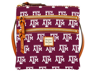Texas A&M Aggies Dooney & Bourke Triple Zip Crossbody Bag