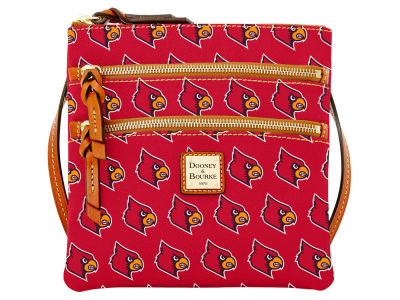 Louisville Cardinals Dooney & Bourke Triple Zip Crossbody Bag