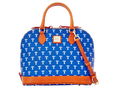 Texas Rangers Dooney & Bourke Zip Zip Satchel