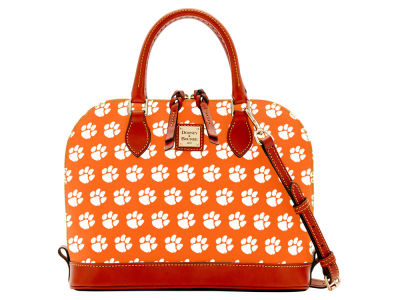 Clemson Tigers Dooney & Bourke Zip Zip Satchel