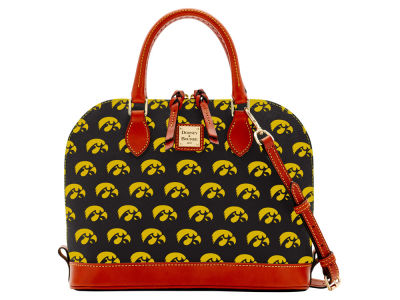 Iowa Hawkeyes Dooney & Bourke Zip Zip Satchel