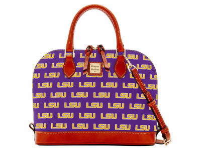 LSU Tigers Dooney & Bourke Zip Zip Satchel