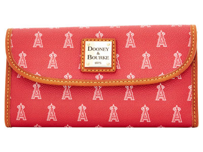 Los Angeles Angels Dooney & Bourke Continental Clutch