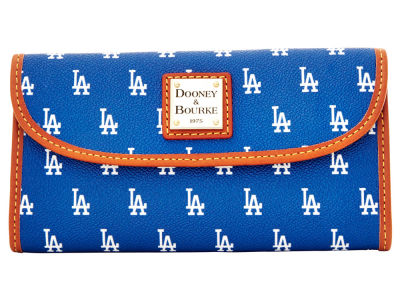 Los Angeles Dodgers Dooney & Bourke Continental Clutch