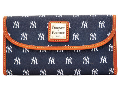 New York Yankees Dooney & Bourke Continental Clutch