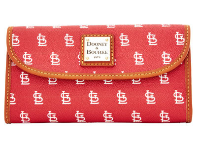 St. Louis Cardinals Dooney & Bourke Continental Clutch