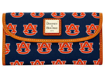 Auburn Tigers Dooney & Bourke Continental Clutch