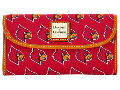Louisville Cardinals Dooney & Bourke Continental Clutch