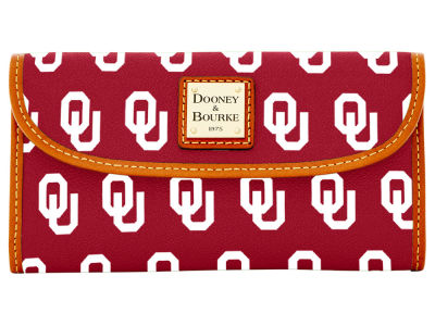 Oklahoma Sooners Dooney & Bourke Continental Clutch
