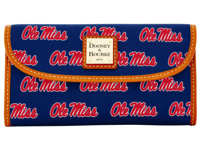 Ole Miss Rebels Dooney & Bourke Continental Clutch