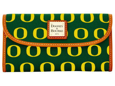 Oregon Ducks Dooney & Bourke Continental Clutch