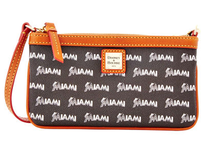 Miami Marlins Dooney & Bourke Large Wristlet