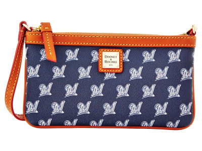 Milwaukee Brewers Dooney & Bourke Large Wristlet