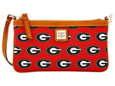 Georgia Bulldogs Dooney & Bourke Large Wristlet