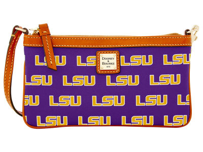 LSU Tigers Dooney & Bourke Large Wristlet