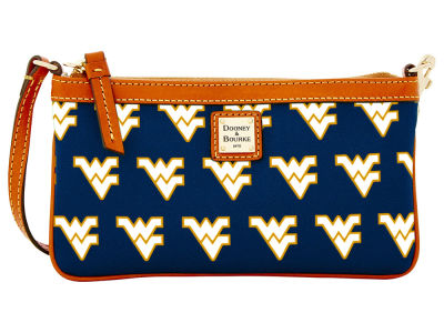 West Virginia Mountaineers Dooney & Bourke Large Wristlet